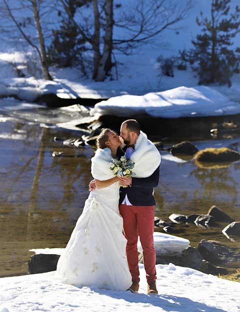 Mariage cadre authentique